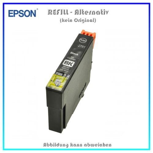 BULK T2791 Alternativ Tintenpatrone Black für Epson - C13T27914010 - Inhalt 34 ml