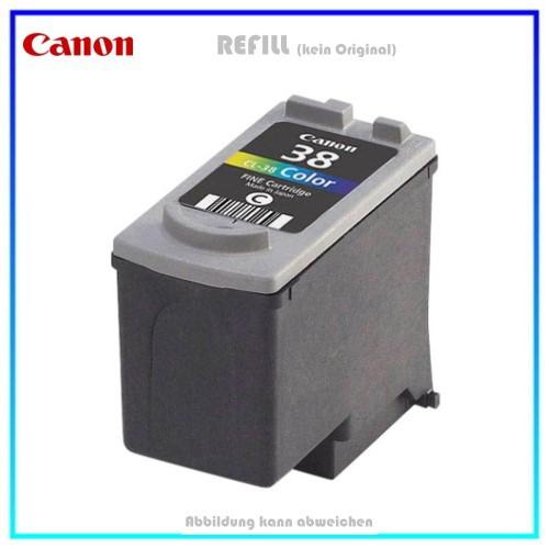 REFCL38 Refill Tinte Color für Canon - 2146B001 - Inhalt 12ml Inhalt