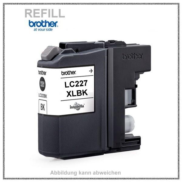 Bulk LC227XLBK Alternativ Tinte Black für Brother - LC227XLBK - BK=25ml
