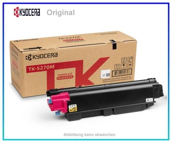 TK5270M, TK5270M, 1T02TVBNL0, Original Toner Magenta, TK-5270M, für Kyocera, M=6.000 Seiten