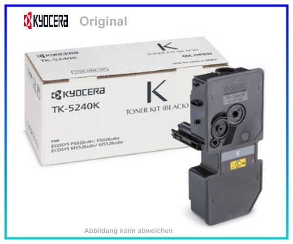 TK5240K - 1T02R70NL0 - Original Black Toner Kyocera - TK5240K - 4.000 Seiten