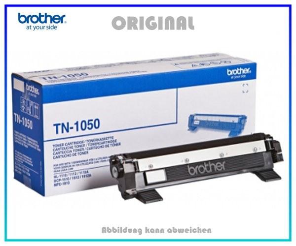 TN1050 - Original Brother TN1050 Lasertoner Black - Inhalt ca. 1.000 Seiten.