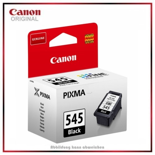 PG545 - 8287B001 Original Tinte Black Canon TS-3150, MG 2450, MG 2550, Inhalt 8 ml,.180 Seiten.
