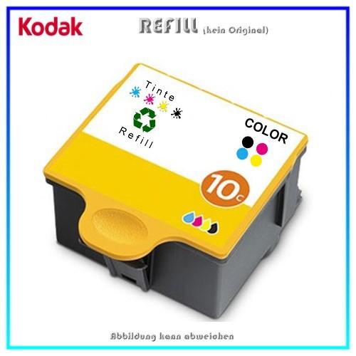 REF10CXL Refill Tintenpatrone Color für Kodak 10 color - 3949930 - 10CXL - Inhalt ca. 63ml