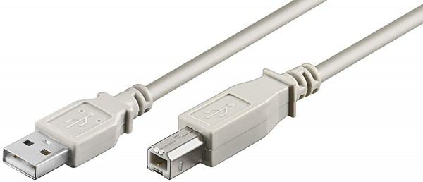 USB Kabel Anschlusskabel für Drucker, Druckerkabel für Drucker USB-A auf USB-B - 3 Meter.