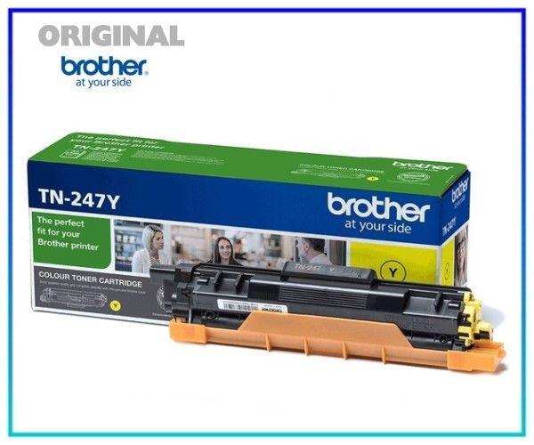 TN247Y - Original Brother TN247-Y Toner Yellow = 2.300 Seiten.