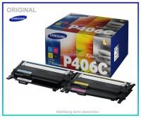 CLP360 Original Toner Rainbowkit Samsung CLT-P406C/ELS,Black=1500 Seiten,Color je 1000 Seiten