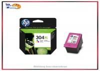 Nr. 304XL - N9K07AE - Original Color für Hp DJ3720 - N9K07AE - Inhalt: 300 Seiten