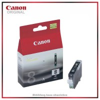 CLI8BK - 0620B001 - Black - Original Tintenpatrone f. Canon Pixma IP 4200 - IP 5200 - IP 6600 - MP 5