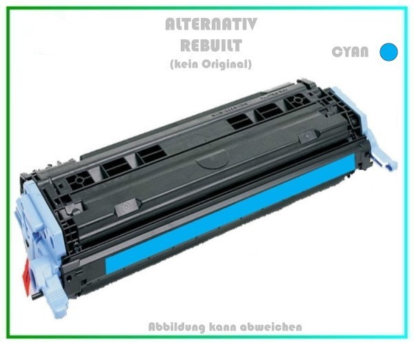 TON6001A, Q6001A, Alternativ Toner, Cyan HP Color Laserjet 1600N, 2600-N, HP-124A,LBP5000, 2000 Seit