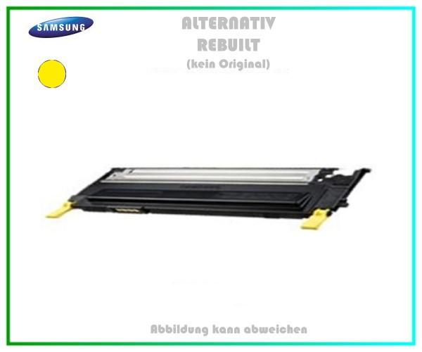 CLP310Y Mehrweg Lasertoner yellow für Samsung CLP 310 - (CLT-Y4092S/ELS) - Inhalt ca. 1.000 Seiten