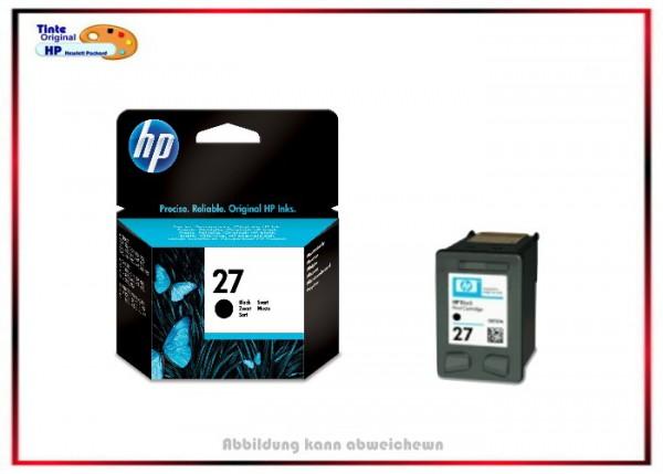Nr. 27 - C8727AE - Tintenpatrone Original Schwarz für HP Schwarz Nr. 27 - Inhalt ca. 10 ml, Deskjet