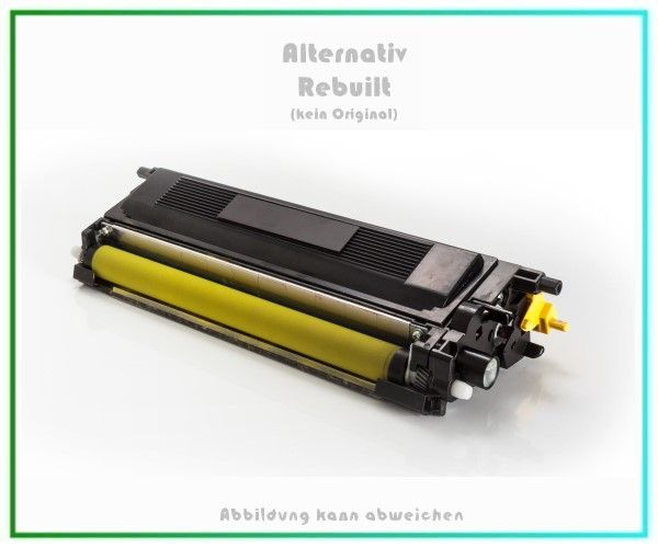 TONTN135Y Alternativ Toner Yellow für Brother - TN135Y - Inhalt 4.000 Seiten (kein Original)