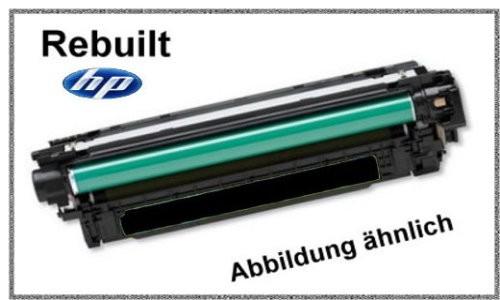 CE250X Mehrweg Lasertoner schwarz f. HP Laserjet - Inhalt ca. 10.500 Seiten