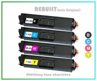 TONTN423KIT Alternativ Brother Toner Rainbowkit, TN423,TN-423, BK=6.500 S. + C+M+Y=je 4.000Seiten.