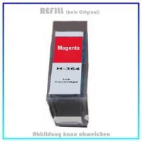 364M Alternativ Tinte Magenta für HP - CB324EE - Inhalt 14,2ml, mit Chip.