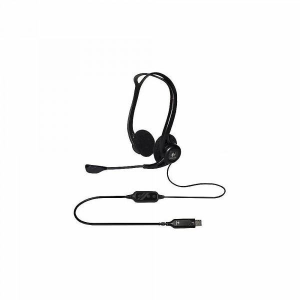 Logitech PC Headset 960 schwarz, Headset mit USB-Schnittstelle, jetzt wieder lieferbar