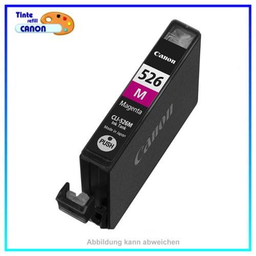 BULK CLI526M Alternativ Tinte Magenta für Canon - 4542B001 Inhalt ca. 10ml mit Chip. (kein Oriiginal