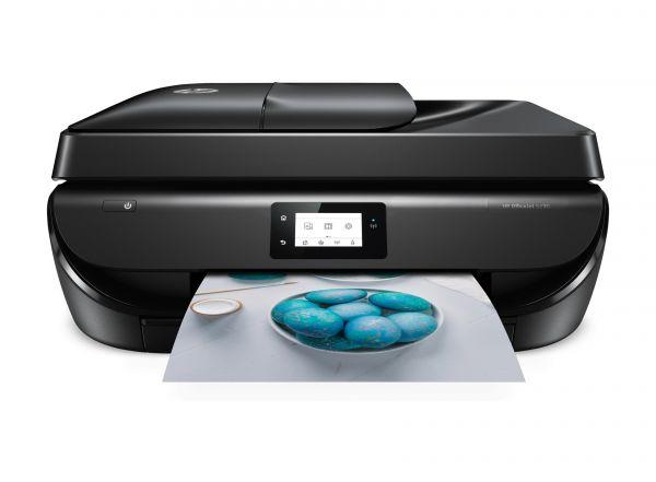HP OfficeJet 5230, 4IN1, Tintenstrahldrucker, M2U82B#BHC, DIN A4, Multifunktion, Farbe.