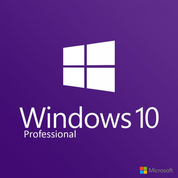 WIN10, Windows 10 Pro Professional - CD-KEY (32/64 Bit)