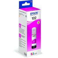 C13T03R340 - Original, EPSON ET2700 TINTE Magenta - 102 ECOTANK PIGMENT Magenta INK BOTTLE